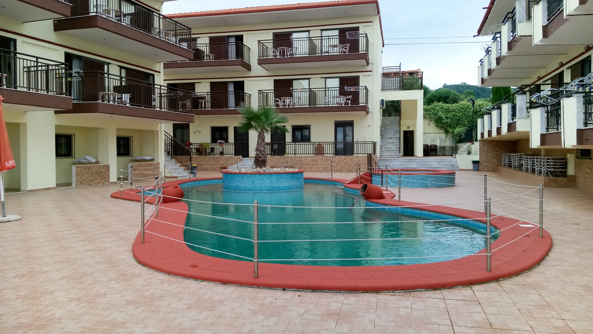 Villa Panorama Hotel, as seen from the pool